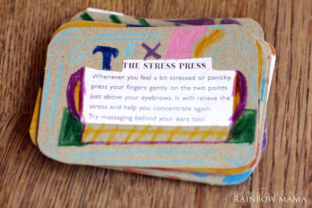 Relaxation Cards for Kids - Make Your Own!