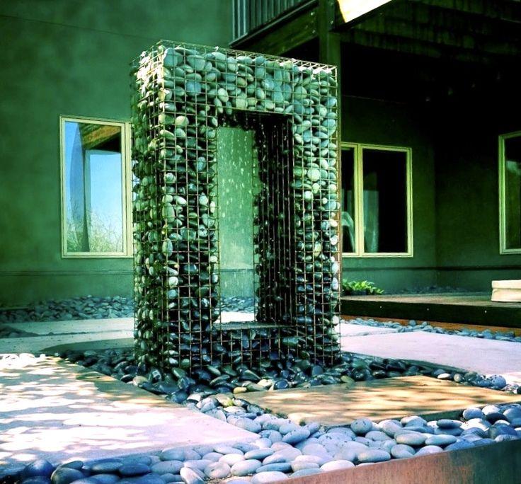 90 best images about gabion walls on pinterest best. Black Bedroom Furniture Sets. Home Design Ideas