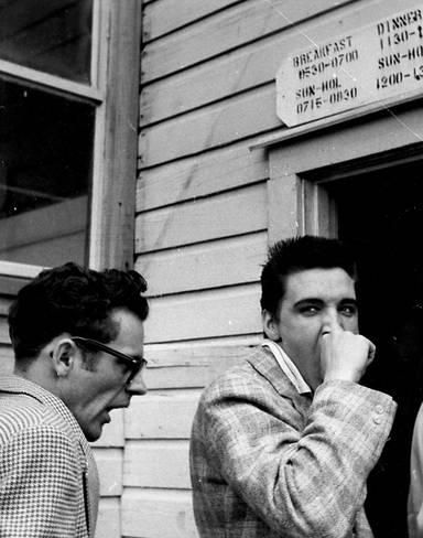 Elvis Army Induction 1958 - YouTube