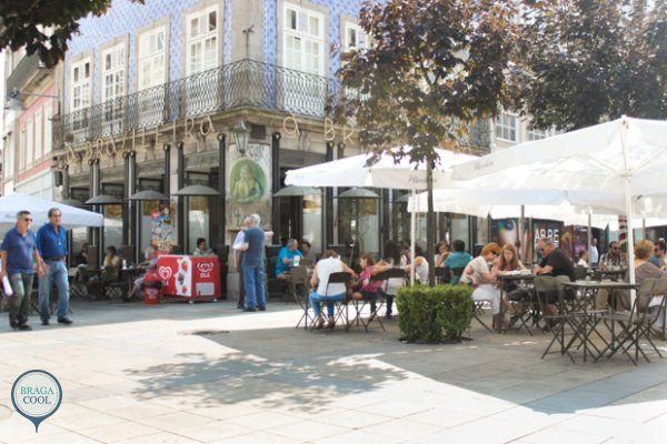 As esplanadas mais cool de Braga - Brasileira