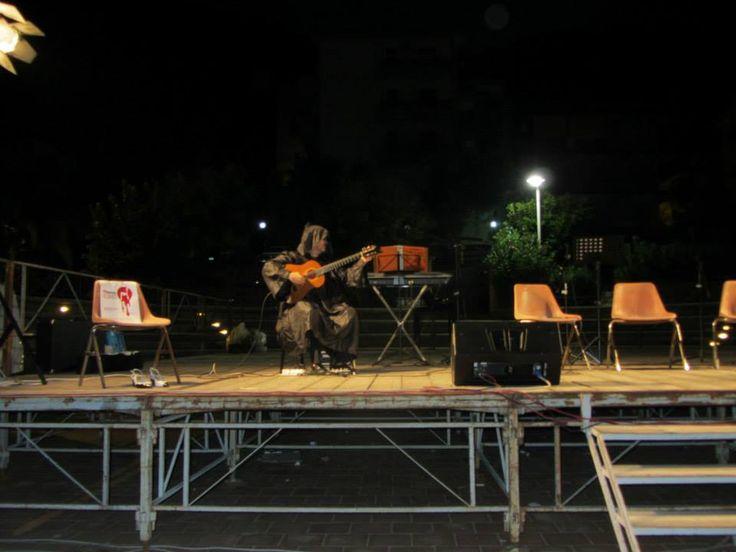 Con Serena Manfrè, Marcello Albanesi, Giulia Carmen Fasolo e José Antonio Plaza. Gliaca di Piraino, 19 agosto 2013