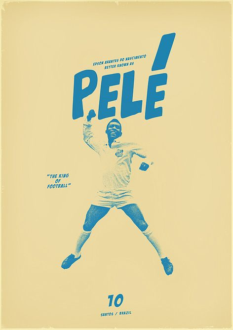 Sucker for Soccer: Football Posters by Graphic Designer Zoran Lucić