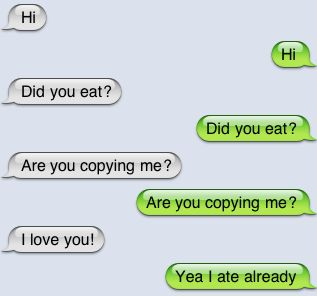 Scary text Messages | think that was the appropriate response.