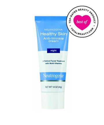 No. 12: Neutrogena Healthy Skin Anti-Wrinkle Cream Night , $12.99 TotalBeauty.com average member rating: 8.4* Why it's great: According to o...