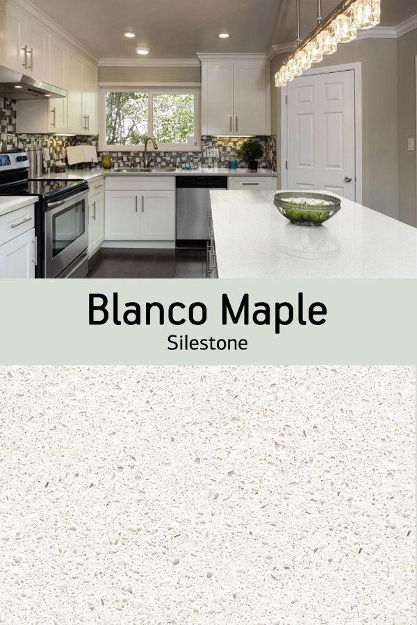 Pair your white cabinets with Silestone quartz countertop ... on Maple Kitchen Cabinets With Quartz Countertops  id=28086