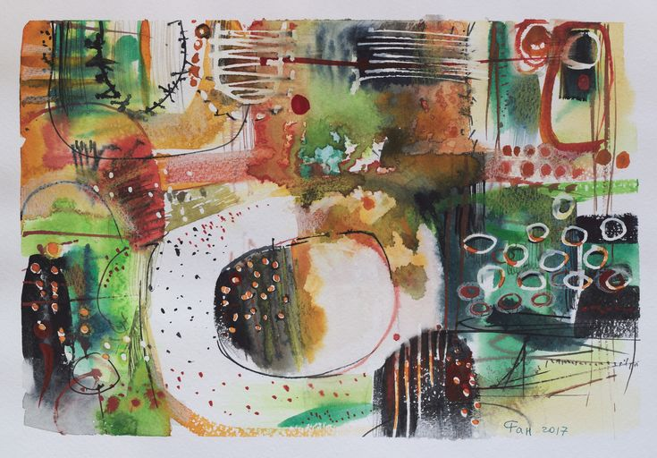 # watercolor # abstraction #
