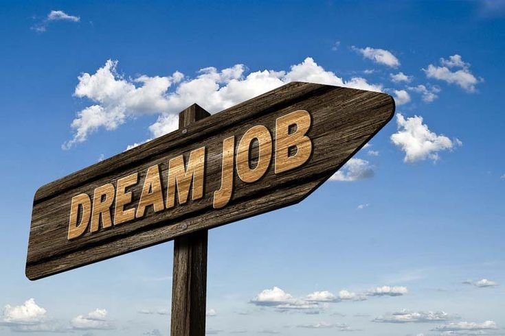Finding work is not easy; finding a dream job is even harder. Your first job is not often the best - it may be a job that you do not like but you accept only to make contacts that can be useful afterwards.