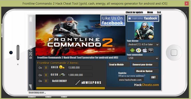 cheats for frontline commando d-day on ipad