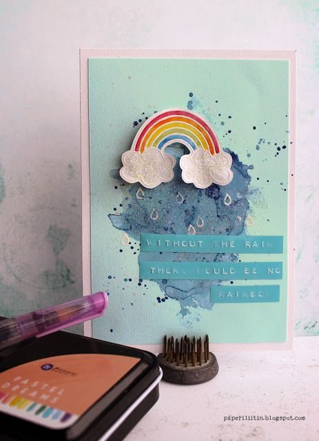 Without the rain by Riikka Kovasin for Craft Stamper
