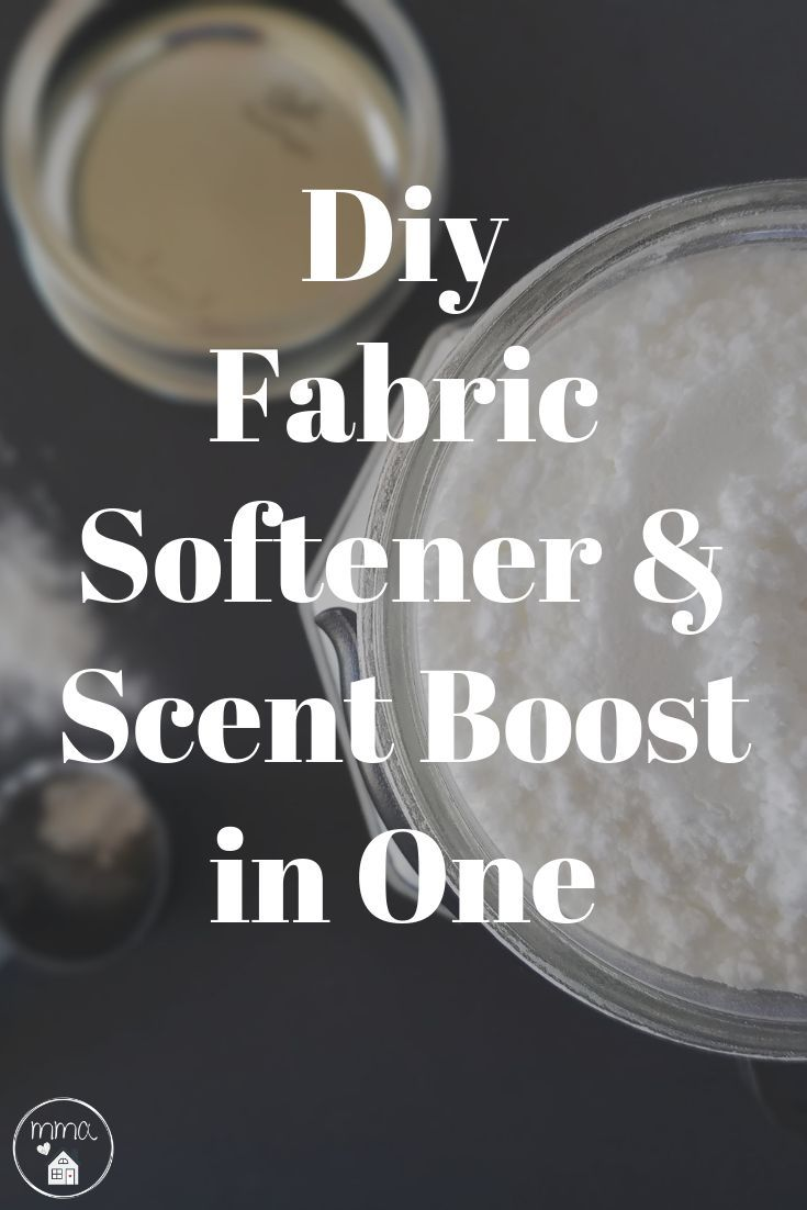 All Natural Fabric Softener And Scent Boost In One Diy