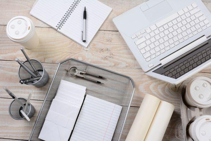 Home Office Desk Items by Steve Cukrov Photography on @creativemarket