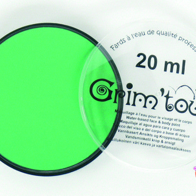 vopsea verde face painting pictura pe fata pentru copii