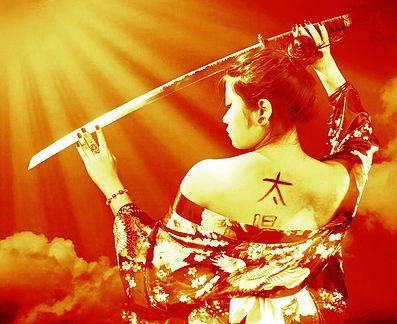 Projeto fotográfico autoral sobre lendas do folclore japonês