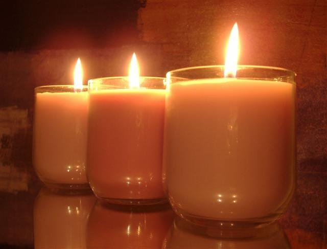 Candles! I go through one a week!