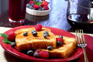 Overnight Crunchy French Toast from CDKitchen.com