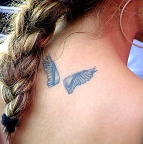 Small Wing Tattoos for Women