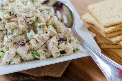 Fridge Staples: Cranberry Chicken Salad