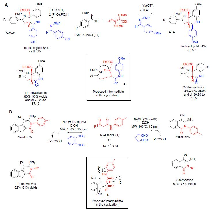 Figure 4 Classical carbonyl condensations-based MCRs in sequential protocols (part 2).