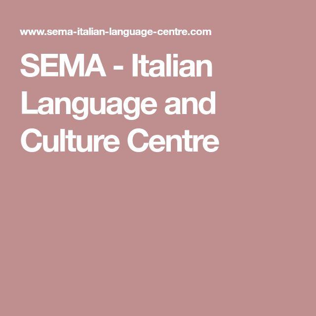 SEMA - Italian Language and Culture Centre