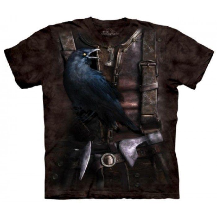 Cadouri Halloween – Tricou Viking Raven
