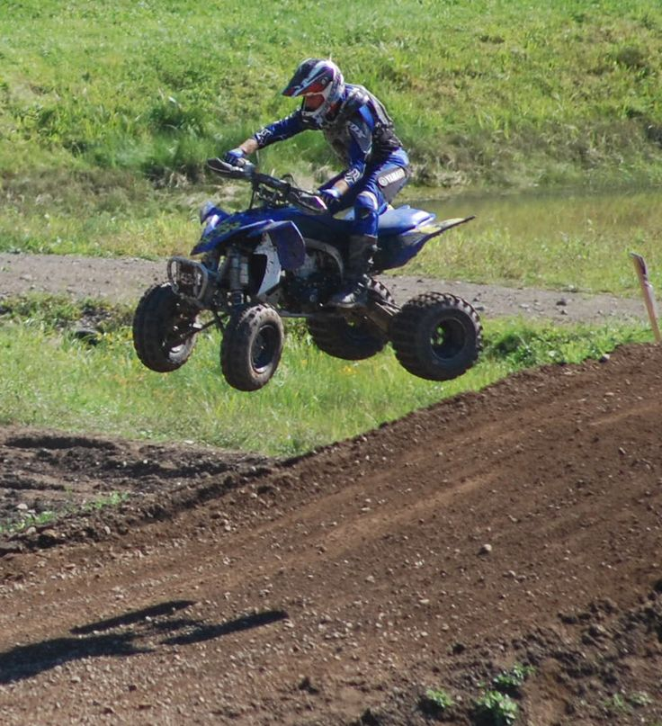 Yamaha YFZ 450. Can't wait to get mine up and running again