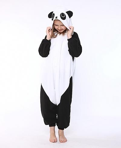 Panda Kids Animal Onesie Costume