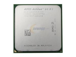 My home server's CPU.  AMD Athlon 64 X2 4200+ 2.2GHz Socket 939 Dual-Core Processor - OEM
