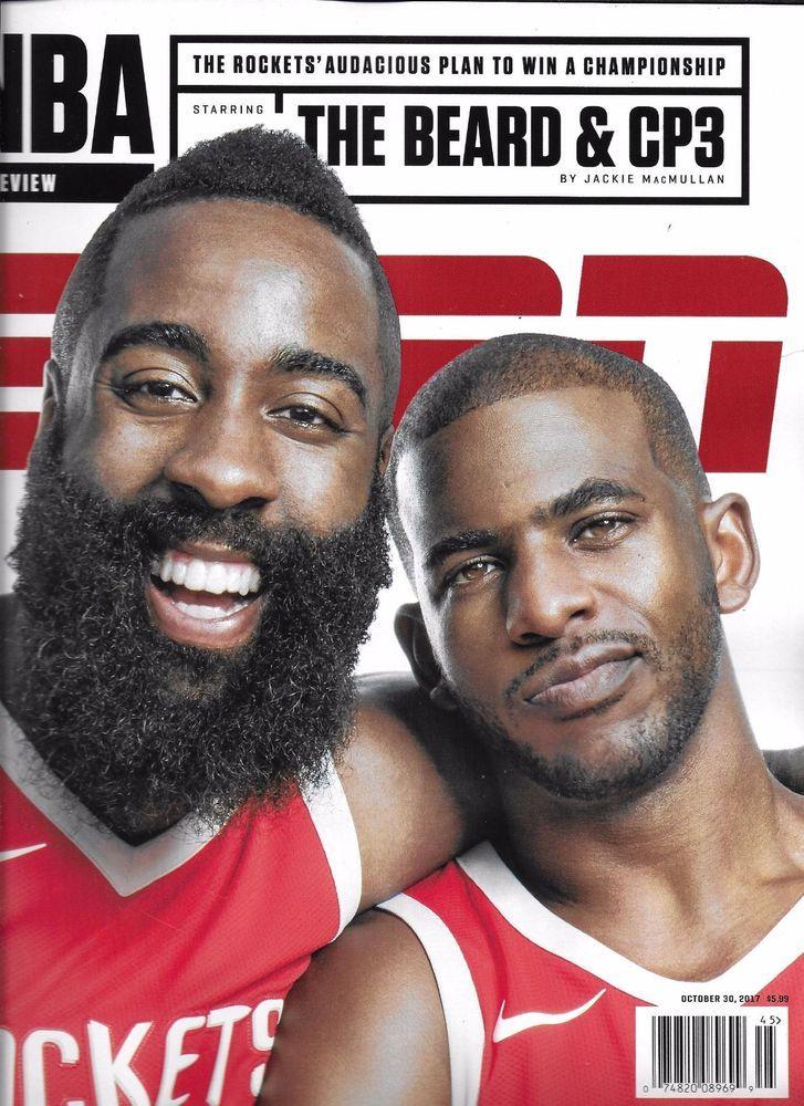 0d550e8aeaf6 ESPN magazine Chris Paul James Harden Houston Rockets Blake Griffin NBA  preview  ClevelandIndians