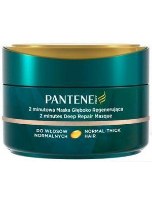PANTENE 200ml 2 minutowa maska głęboko regenerująca  • intensywnie nawilża • łatwo się rozprowadza • bardzo wydajna • wspaniały zapach