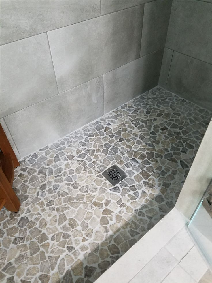 541 best bathroom pebble tile and stone tile ideas images Mosaic tile designs for shower