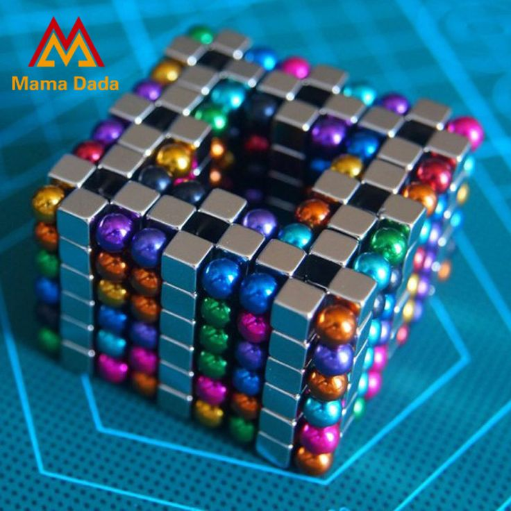 216pcs 5mm Antistress Toys Magnetic Balls Cubes Sphere Neodymium Magnet Puzzle Adult Toys Spheres Beads Magic Cube Toys