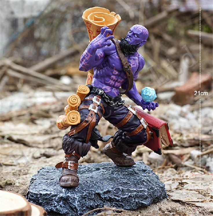LoL Ryze 8'' Action New Box Complete Figure Toy //Price: $US $43.34 & FREE Shipping //     #toys