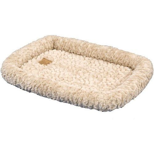 "Dog Crate Mat Natural Color Bed Medium 31"" X 21"" Machine Washable Carrier Car  #PrecisionPet"