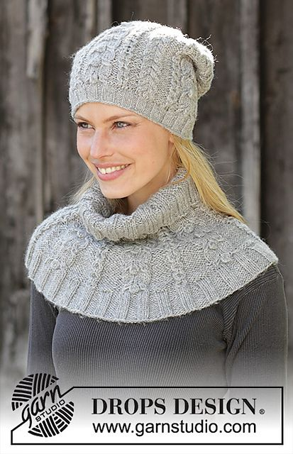 2b62f1bf974 Ravelry  192-46 c Ice Skating Set  Hat pattern by DROPS design