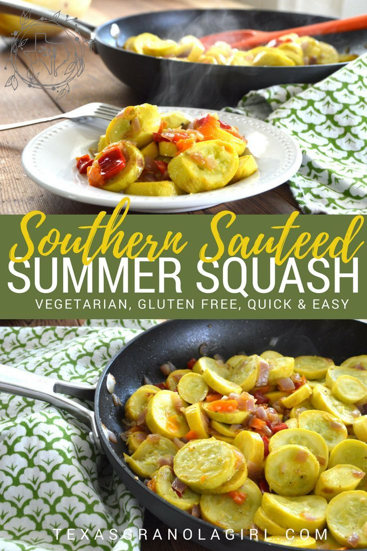 Southern Sauteed Summer Squash is by far one of my favorite summer dishes. It is light, healthy, quick, complements any meal and is SUPER DELISH!