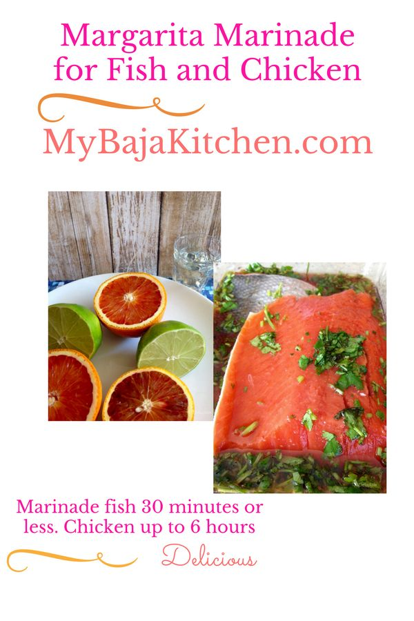 Tequila, lime, orange #marinade for fish, salmon, shrimp or chicken.