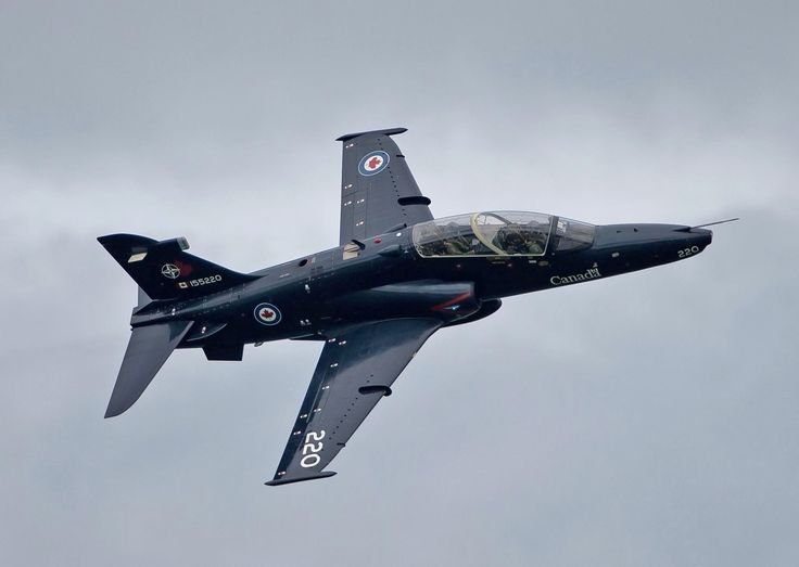 The CT-155 Hawk is a jet aircraft that potential fighter pilots fly during the latter part of their Advanced Flying Training and during their Fighter Lead-In Training. PHOTO: DND