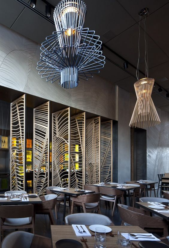 Gallery of Taizu Restaurant / Pitsou Kedem Architects + Baranowitz-Amit Design Studio - 26 & 66 best Modern Lighting | Contract u0026 Commercial Projects images on ... azcodes.com