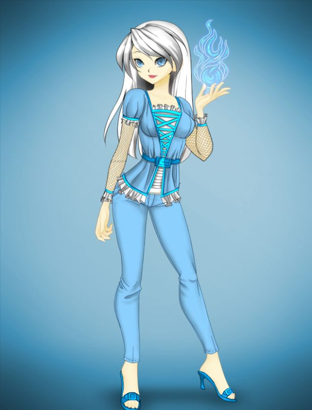 Fairytale Character Anime Version Elsa By Yunadance7 On