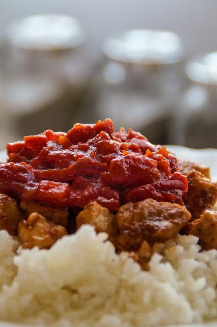 Kurczak Po Chinsku W Sosie Slodko Kwasnym Z Ryzem Kuchnia