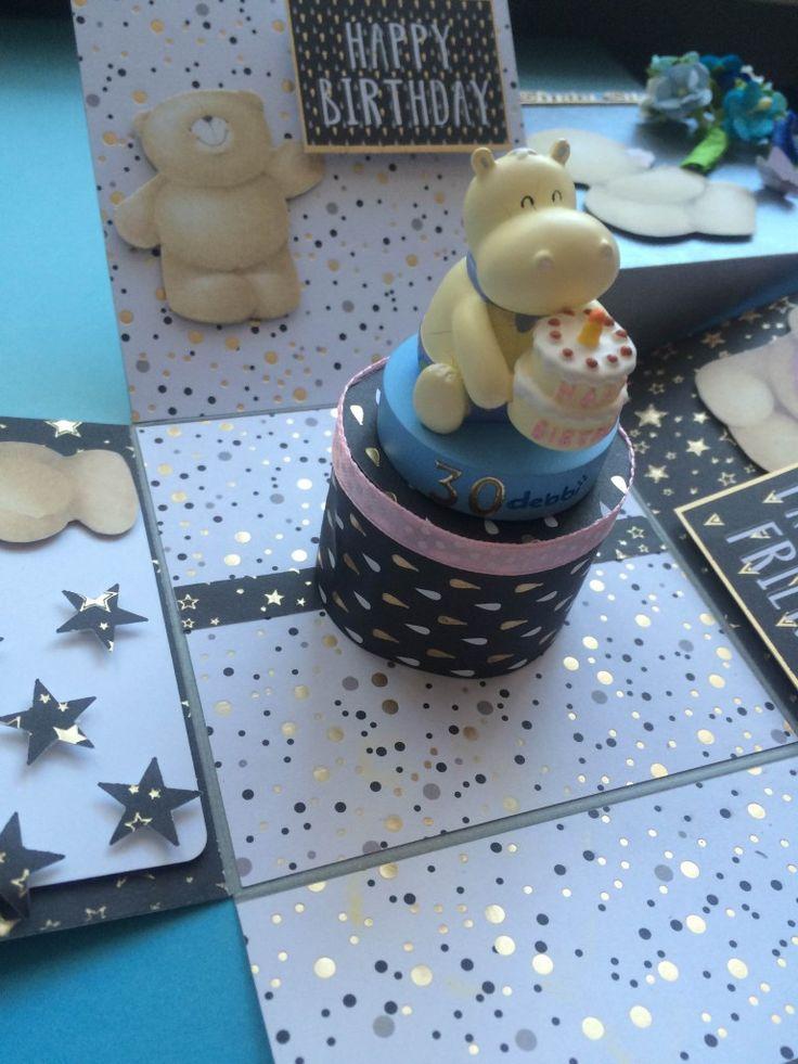 Exploding box - 30 urodziny :)