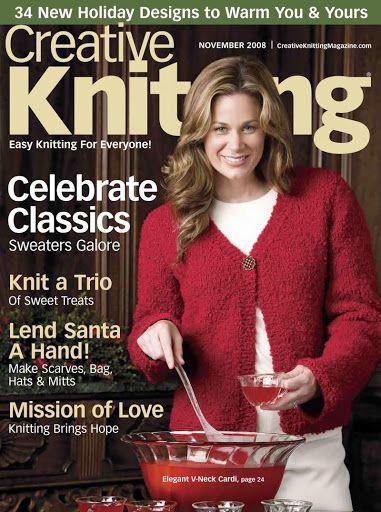 Creative Knitting 11- 2008 - Poli tricot - Picasa Webalbumok