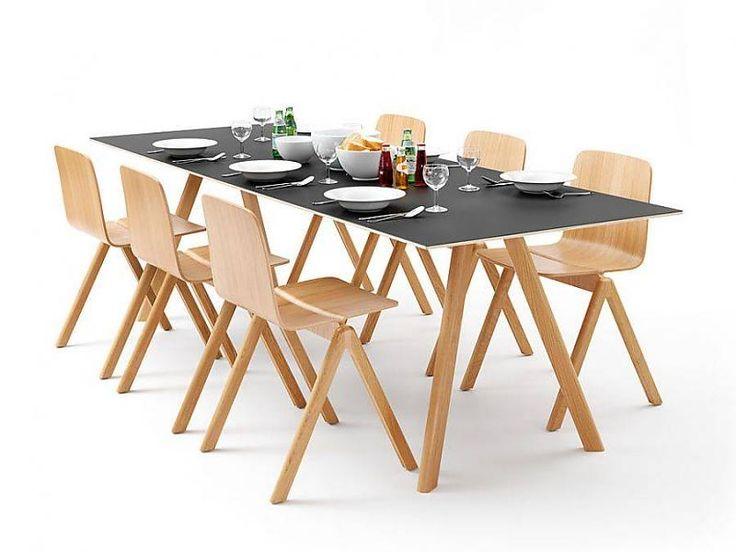 14 best copenhague table cph30 images on pinterest copenhagen dining room and dining rooms - Table copenhague bouroullec ...