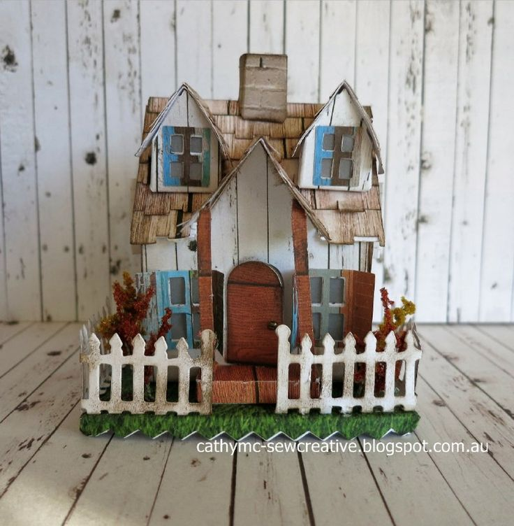 Tim Holtz Village Bungalow