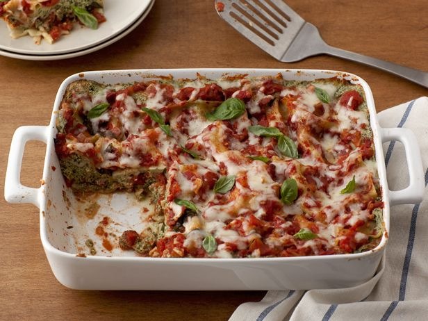 Turkey Sausage Lasagna.