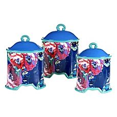 image of Tracy Porter® Poetic Wanderlust® Reverie 3-Piece Canister Set
