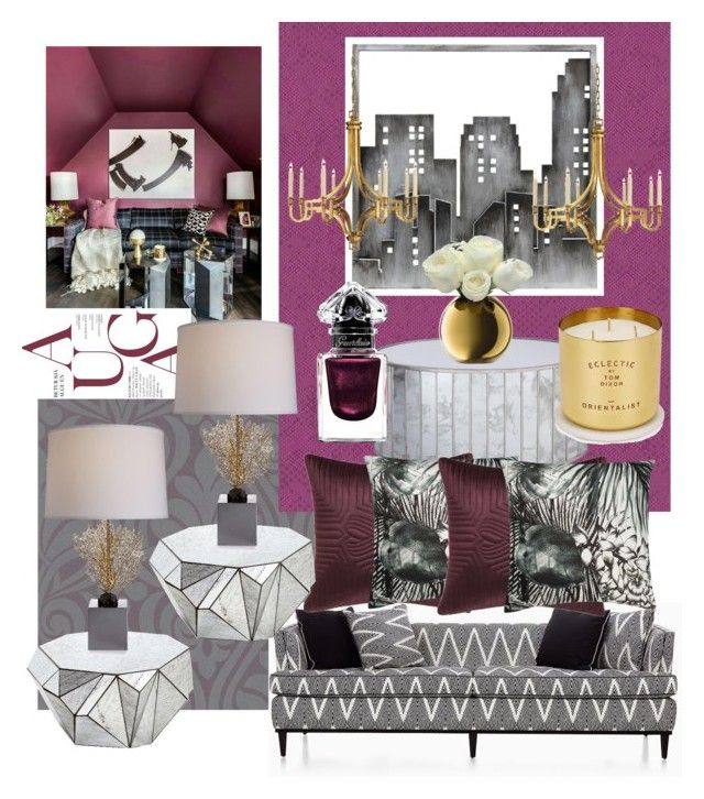 MARSALA on the wall by myhouse-myideas on Polyvore featuring polyvore interior interiors interior design home home decor interior decorating Kate Spade Worlds Away Michael Aram Visual Comfort Christian Lacroix Tom Dixon Ted Baker LSA International