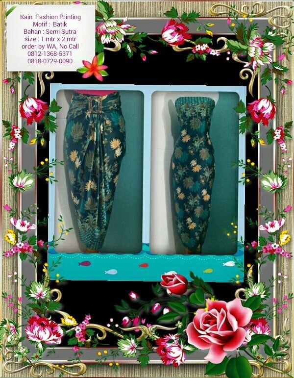 Kain Fashion Printing Bisa Reques Ukuran & Menerima pesanan seragam Ket & Order : Lihat foto