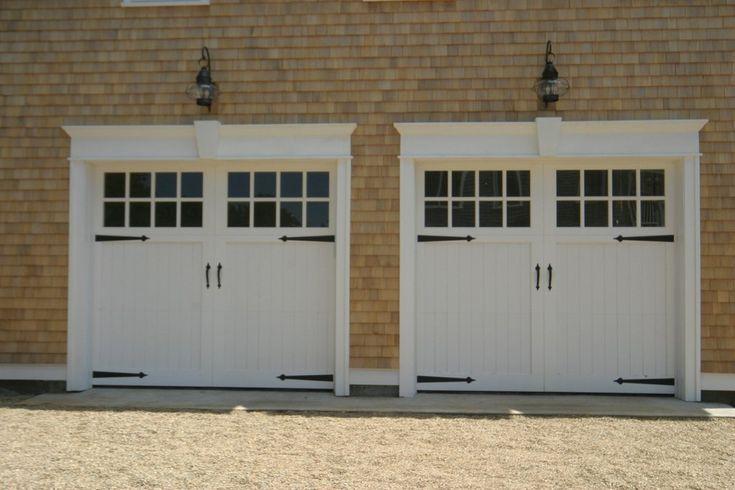 how to open garage door manually with broken spring