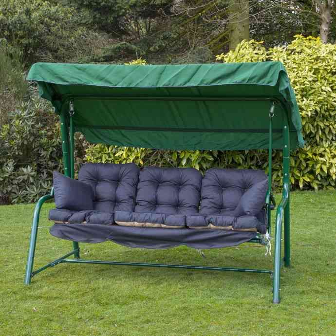3 Person Swing Cushion Replacements Garden Bench